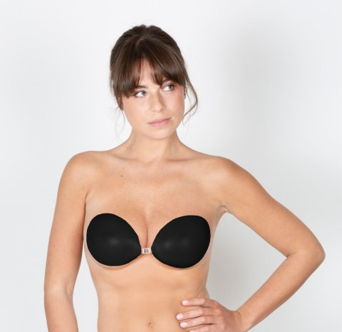101 black gilsa paris skin bra adhesive bra worn face