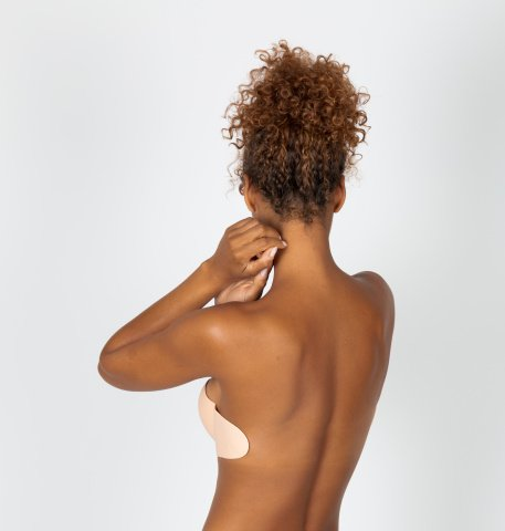106 tahiti wedding nude backless bra with adhesive fins oui by gilsa worn on the back oui by gilsa