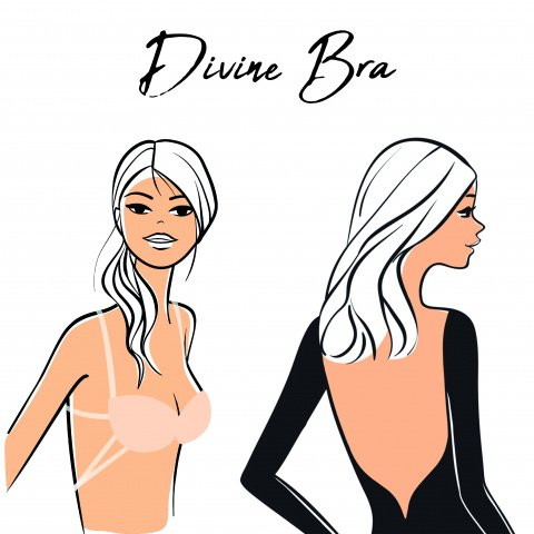 204 Divine bra multi-position bra for backless dress