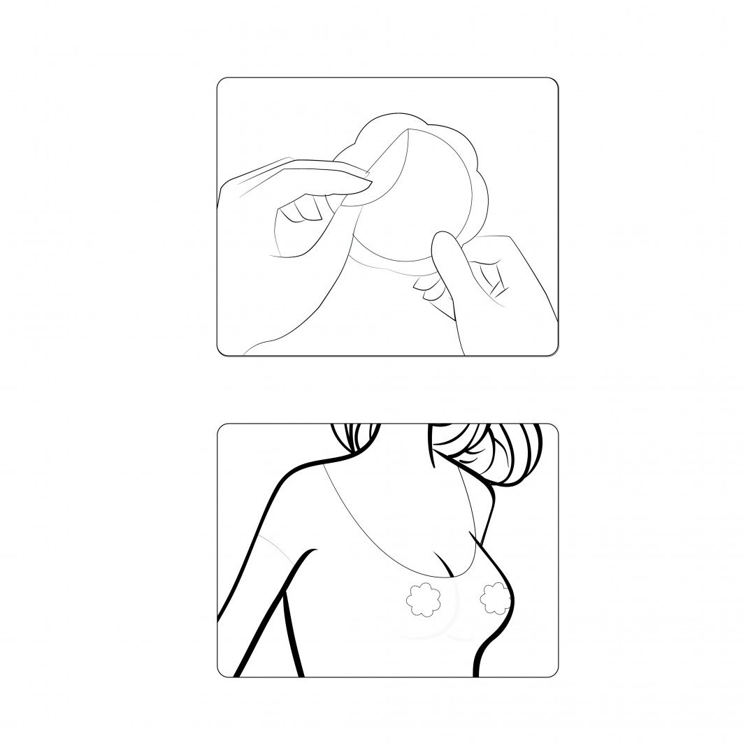 instructions for use icache nipples sticker