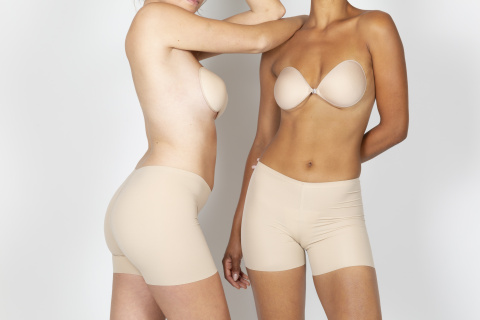 425 invisible seamless shorts emile second skin gilsa paris worn face and profile