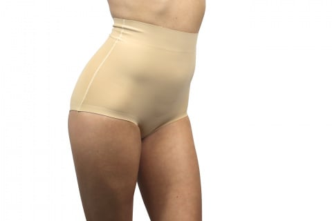 402 invisible panties high waist panty slim flesh gilsa paris range seamless profile for a flat stomach
