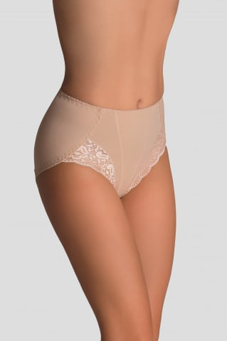 louise lace panties in beige effect push up gilsa